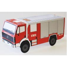 Kivágható tűzoltóautó
